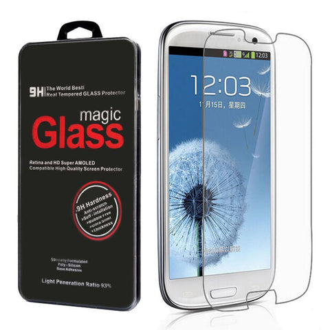 Samsung Galaxy S3 i9300 Clear Tempered Glass Screen Protector