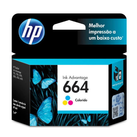 HP - Ink cartridge - Tricolor 664