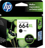 HP - Ink cartridge - Black 664 XL