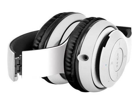 Klip Xtreme BlueBeats KHS-631WH - Headphones with mic - on-ear
