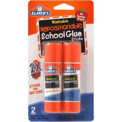 Elmer All Purpose 6gr Glue Stick 2 Sticks per Pack (E627)