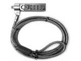 Klip Xtreme - Notebook locking cable - combo and key