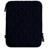 iLuv iCC2011 BLK Neoprene Sleeves w/Pocket for iPad2