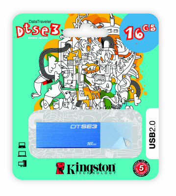 Kingston - 16 GB - DTSE3