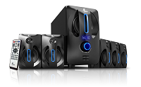Xtech - Speaker system - Wireless