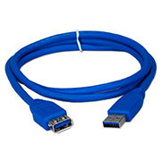 Xtech - USB extension cable - Blue