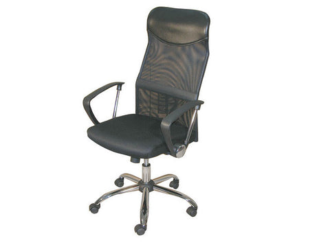 Manager Chair w/Arm Rest (Torin) - Black
