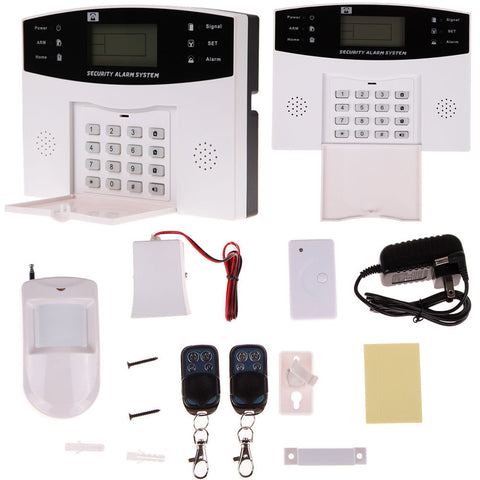 LCD Wireless Auto Dialer Home House Security System Burglar Alarm Call