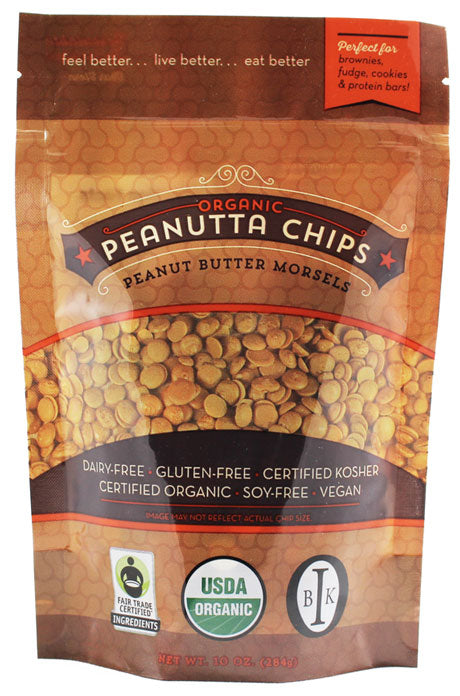 Peanutta Organic Peanut Butter Morsels package
