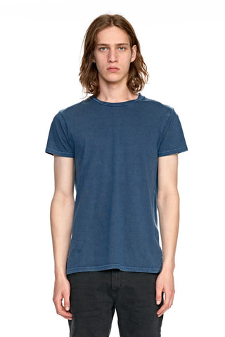 ROLLAS OLD MATE TEE | NAVY STONE