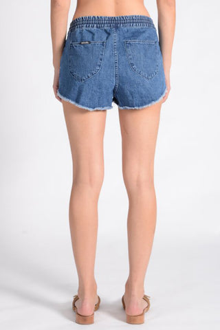 ROLLAS JOGGER SHORTS | PALMS BLUE