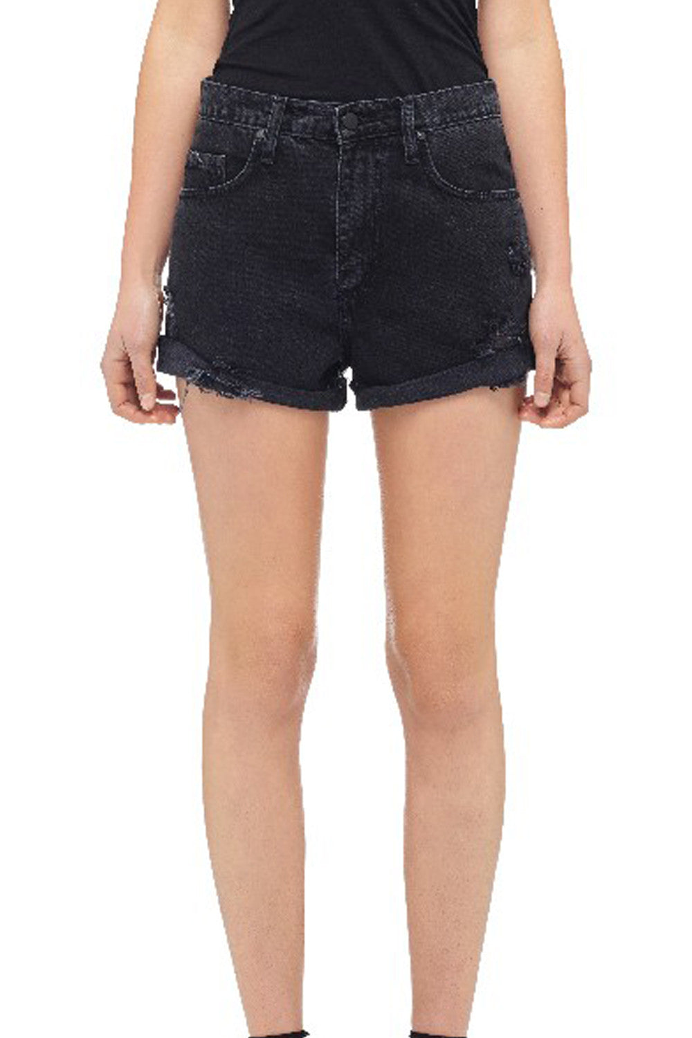 NOBODY DENIM SKYLINE SHORT | ABYSS