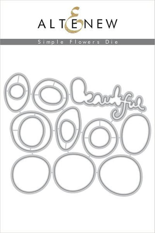 SIMPLE FLOWERS DIE SET