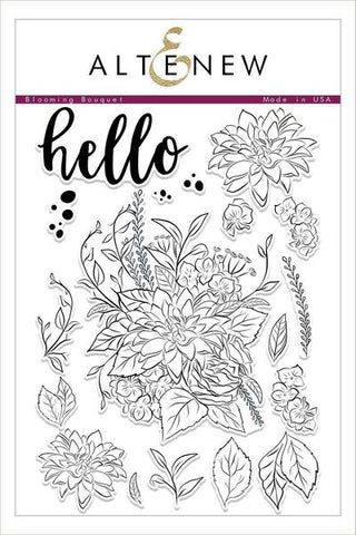 BLOOMING BOUQUET STAMP SET