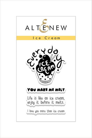 ICE CREAM STAMP SET