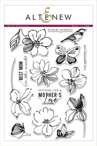 WILD HIBISCUS STAMP SET