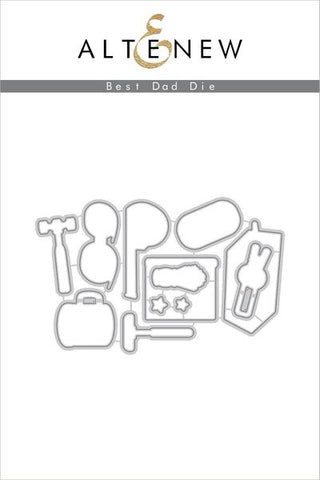 BEST DAD DIE SET