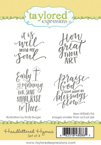 HANDLETTERED HYMNS