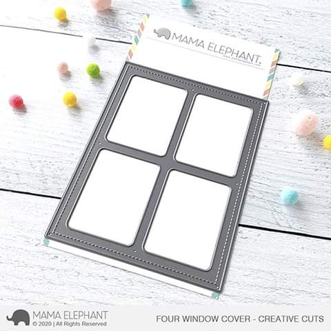 FOUR WINDOW COVER