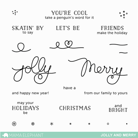 JOLLY AND MERRY