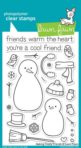 MAKING FROSTY FRIENDS