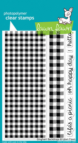 GINGHAM BACKDROPS