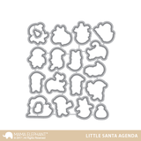 LITTLE SANTA AGENDA CREATIVE CUTS