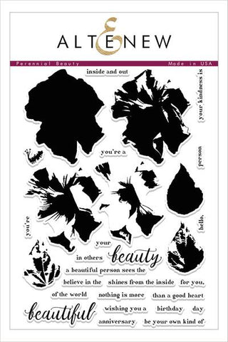 PERENNIAL BEAUTY STAMP SET