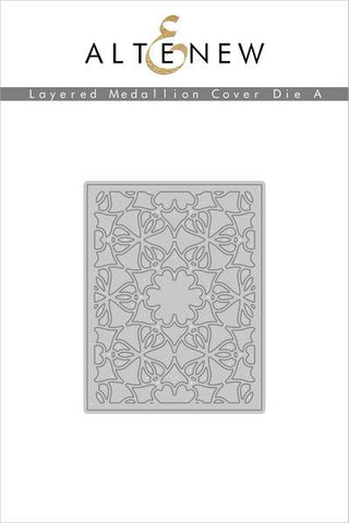 LAYERED MEDALLIONS COVER DIE A