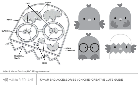 FAVOR BAG ACCESSORY CHICKIE