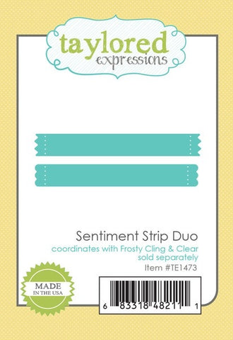 SENTIMENTS STRIP DUO