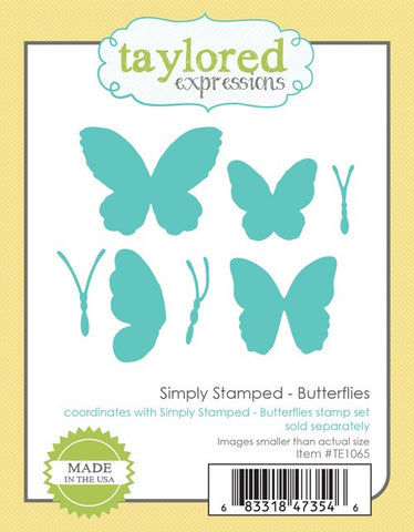 SIMPLY STAMPED BUTTERFLIES DIES