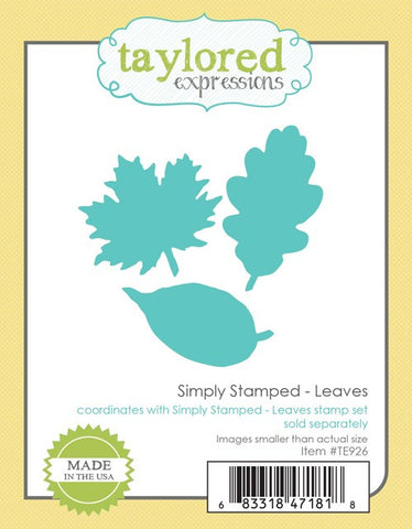 SIMPLY STAMPED LEAVES