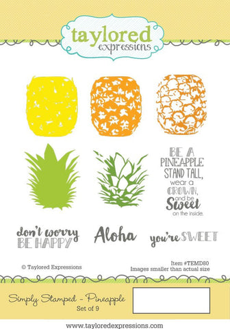 SIMPLY STAMPED PINEAPPLE