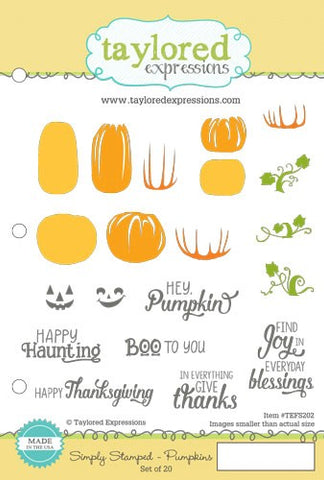 SIMPLY STAMPED PUMPKINS