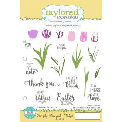 SIMPLY STAMPED TULIPS