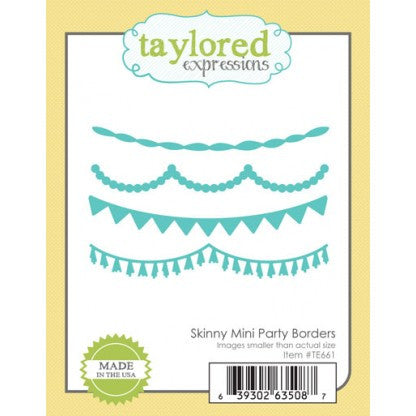 SKINNY MINI PARTY BORDERS