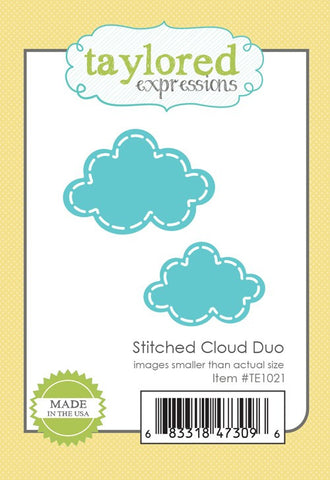 STITCHED CLOUD DUO