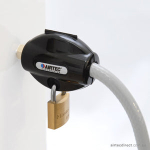 Coupling Cover with Padlock and Key - [product_typre]  |  Airtec Corporation