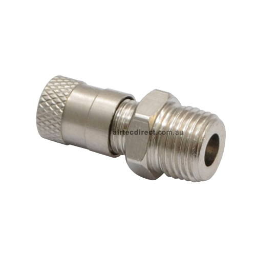 Tank Valve Nickel Plated Brass TV-401 - [product_typre]  |  Airtec Corporation