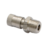Tank Valve Nickel Plated Brass TV-401