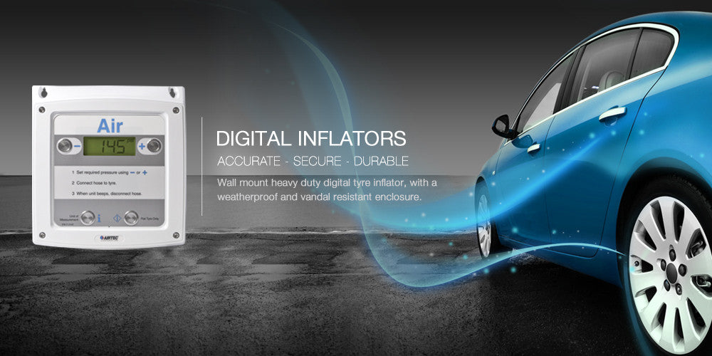 Digital Tyre Inflators