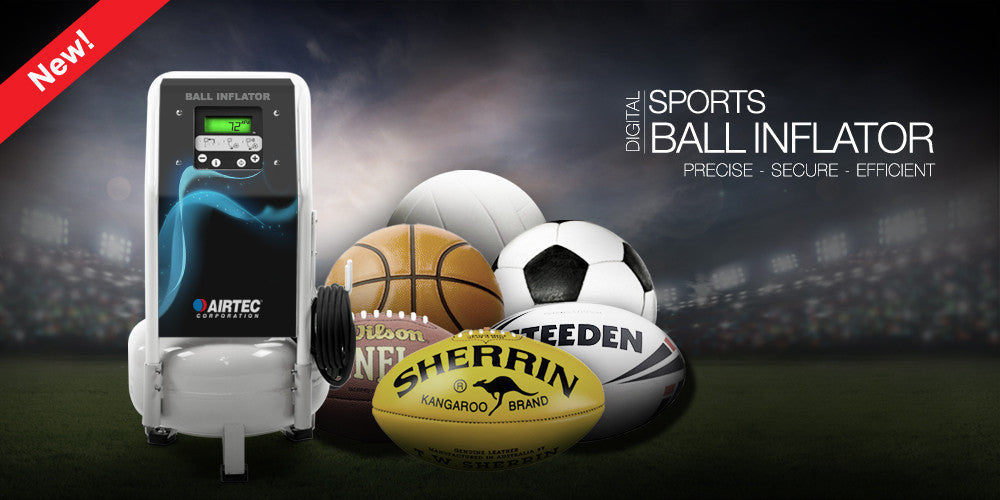 Sports Ball Digital Inflator