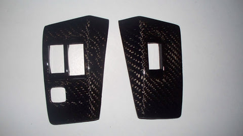 RETRO-SPEC  CARBON FIBER SUPRA MA70 WINDOW SWITCH COVERS