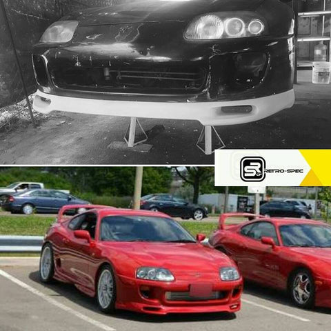 "RETRO-SPEC MK4 SUPRA TYPE ""A"" FRONT LIP"