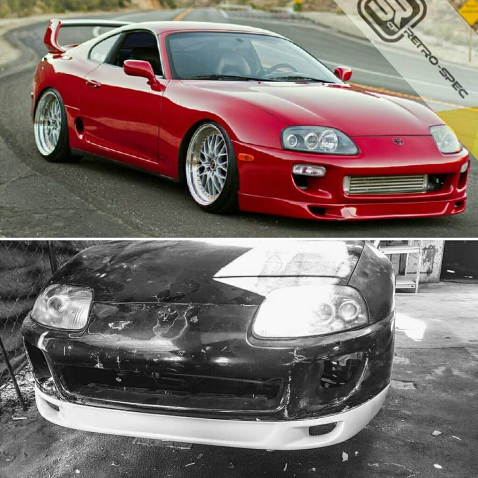 "RETRO-SPEC MK4 SUPRA TYPE ""T"" FRONT LIP"