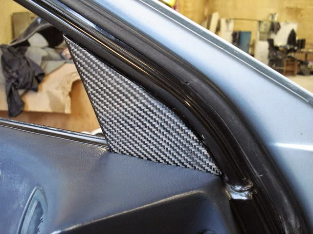 RETRO-SPEC CARBON FIBER INTERIOR MIRROR COVERS