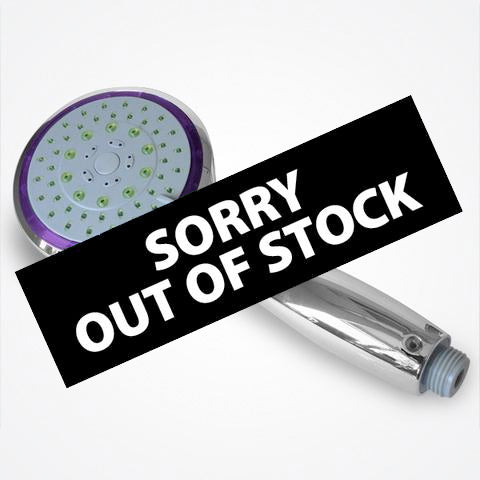 Water Saving Shower Head – H3P – Hand Held 3 settings (PURPLE)