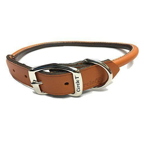 Rolled Leather Collar