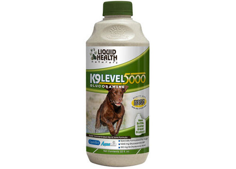 K9 Level 5000 Liquid Health Glucosamine, 32 oz.